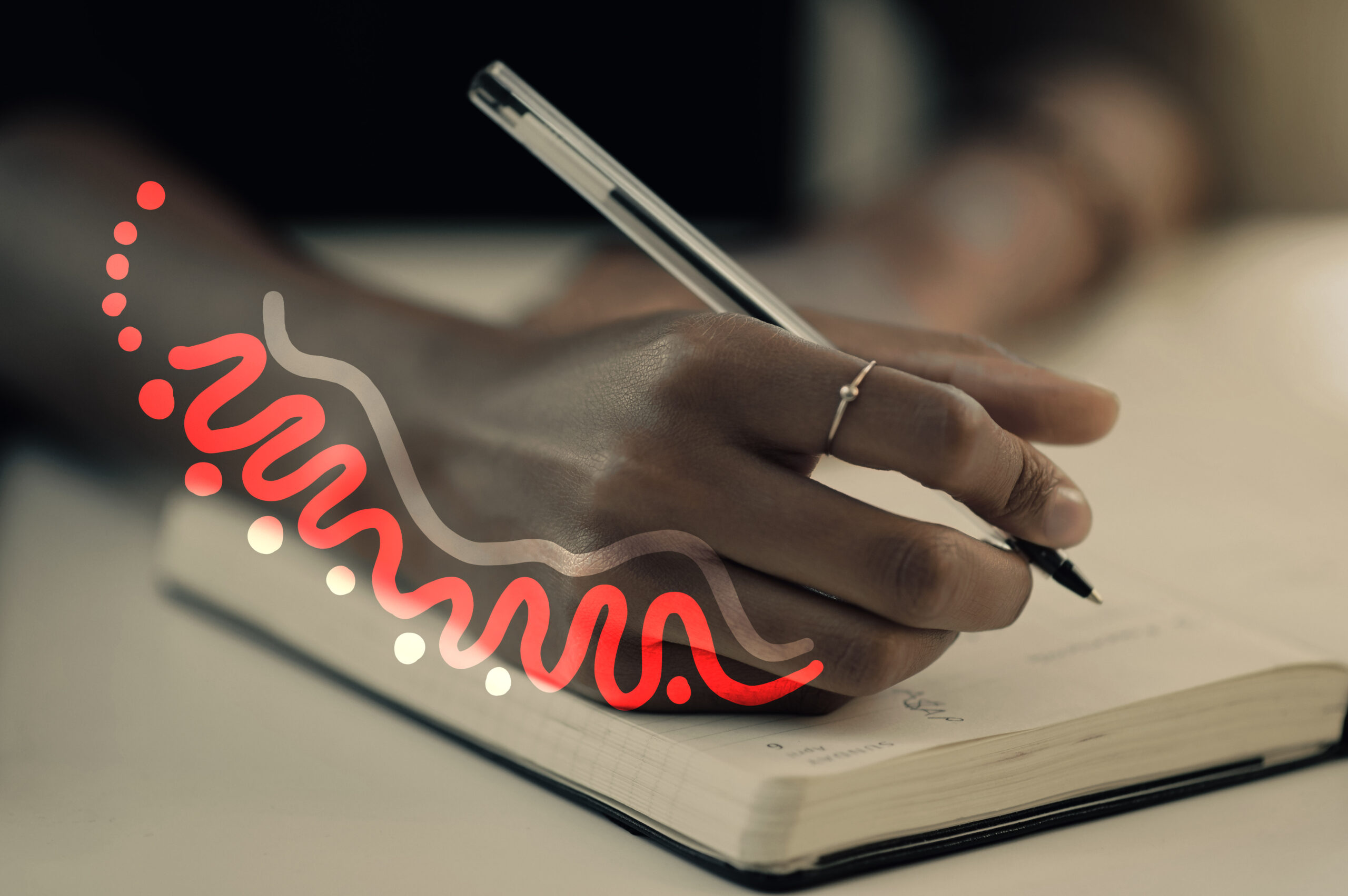 reduce worry and anxiety by journaling your feelings